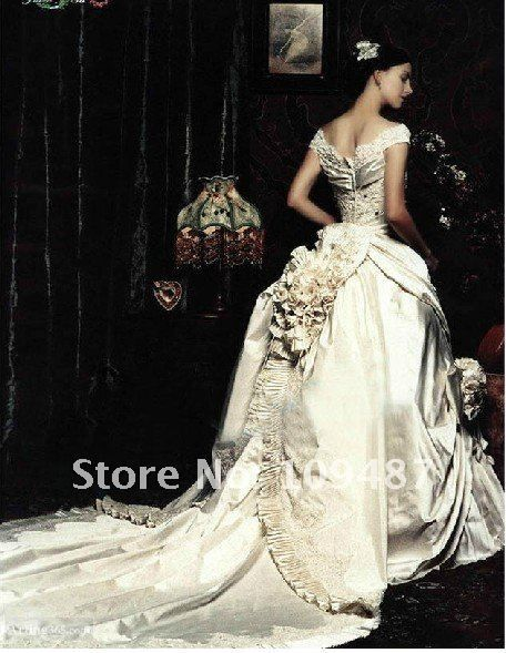 2012 latest wedding dress boutique luxury royal bride beautiful ...