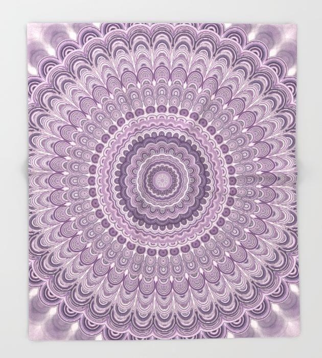 Industrial Home Decor Wholesale Purple Feather Mandala Throw Blanket by David Zydd #MandalaBlanket #purple #mandala #blanket #bedroomdecor #ThrowBlanket #homedecor #home #dormdecor #bohochic #bohemian #art #gifts #christmas.Industrial Home Decor Wholesale  Purple Feather Mandala Throw Blanket by David Zydd #MandalaBlanket #purple #mandala #blanket #bedroomdecor
