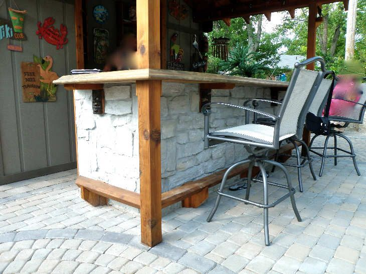 20+ creative patio / outdoor bar ideas you must try at your ... - Patio Bar Designs