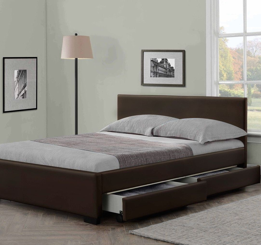 Double Bed With Mattress Deals Buy Leather Beds Lowest Price Guarantee On Cheap Single Double