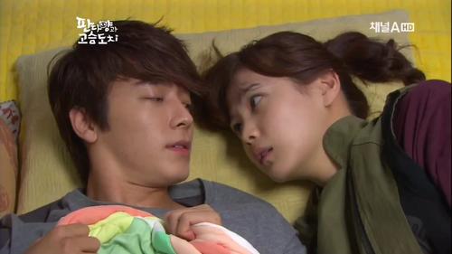 Resultado de imagen para Miss Panda and Hedgehog donghae y seung ah gif
