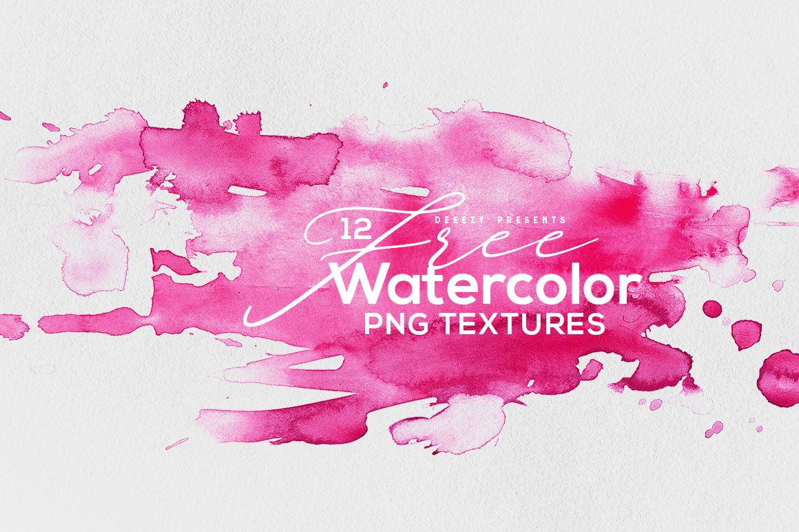 12 Free Abstract Watercolor Textures On Behance