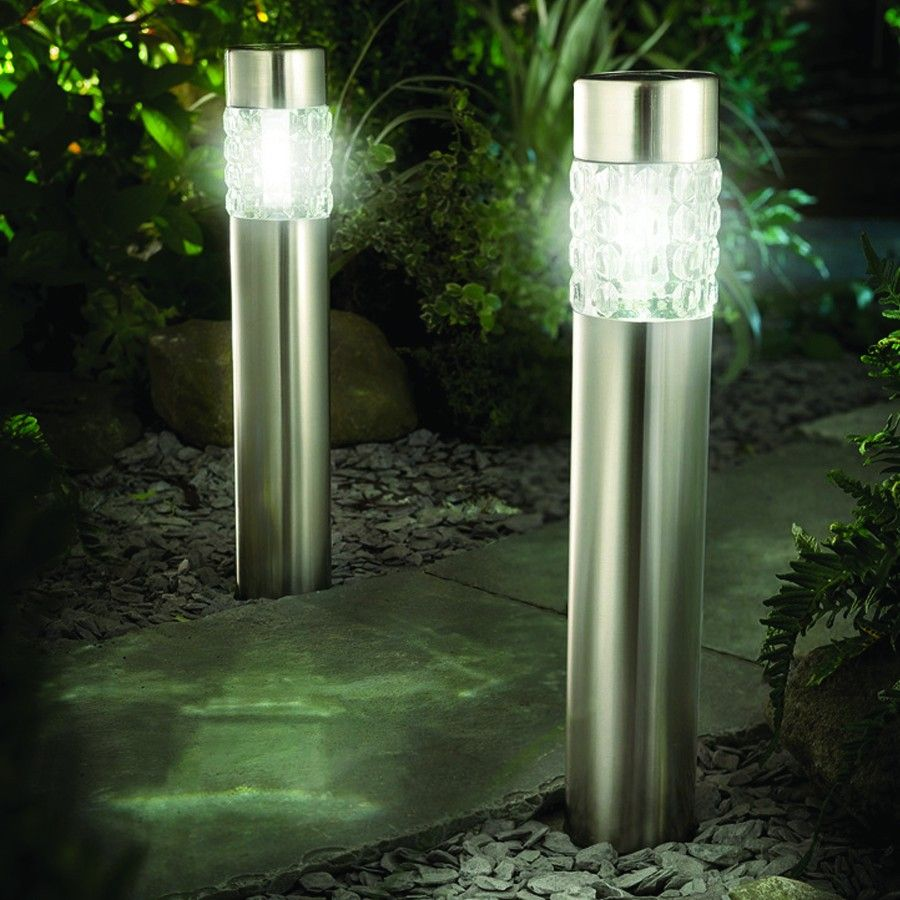 Cole U0026 Bright Motion Sensor Solar Bollard Lights