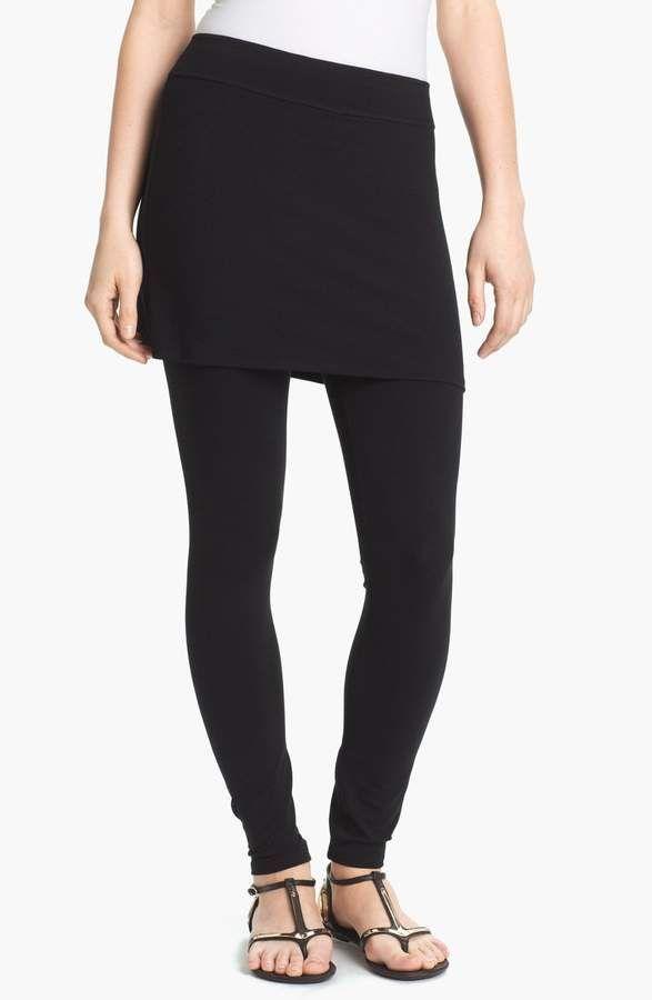 d3dea21c15647 Eileen Fisher Skirted Ankle Leggings | Products | Skirt leggings ...
