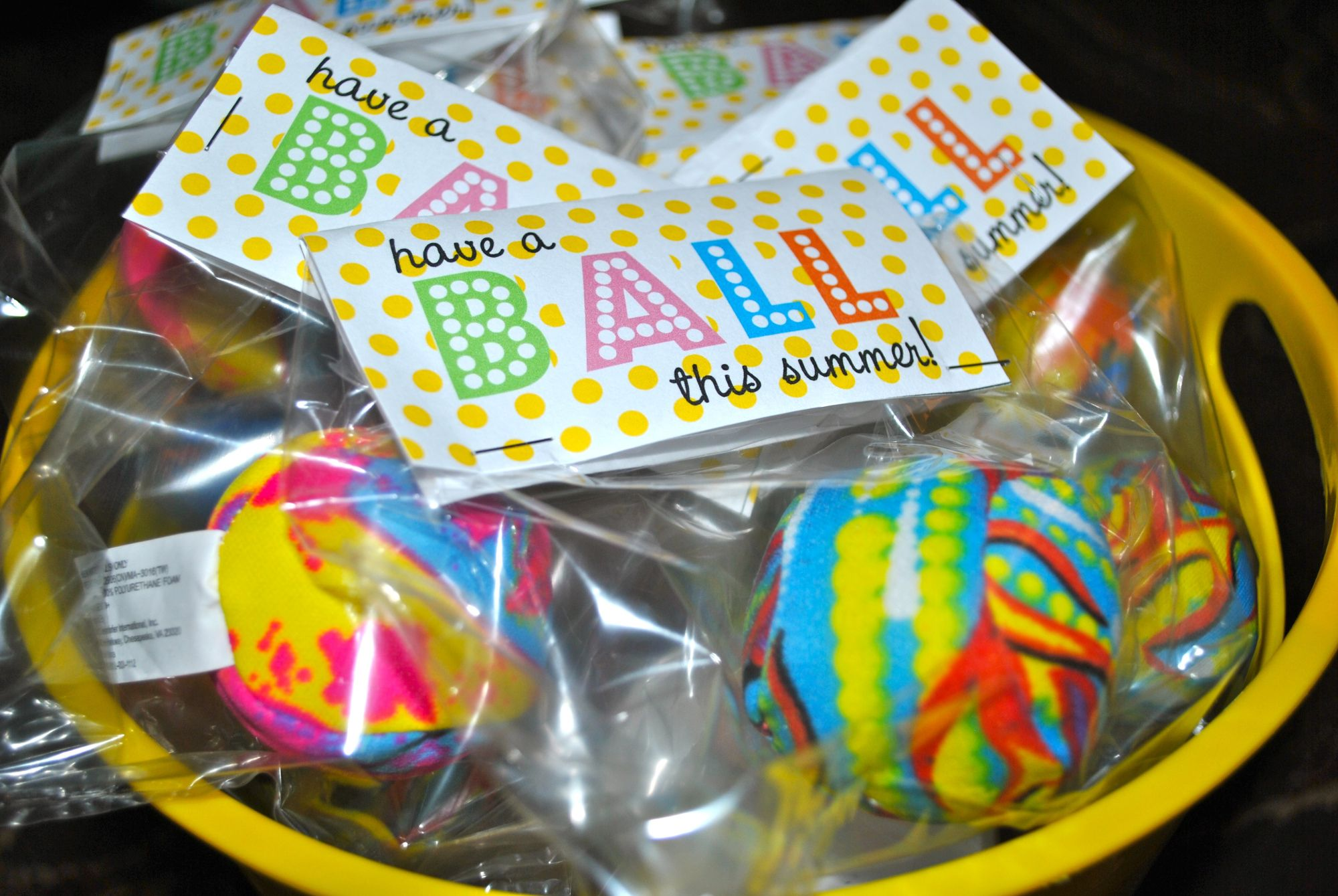 photo about Have a Ball This Summer Free Printable known as Contain a Ball this Summertime\u201d free of charge printable get together like! Close