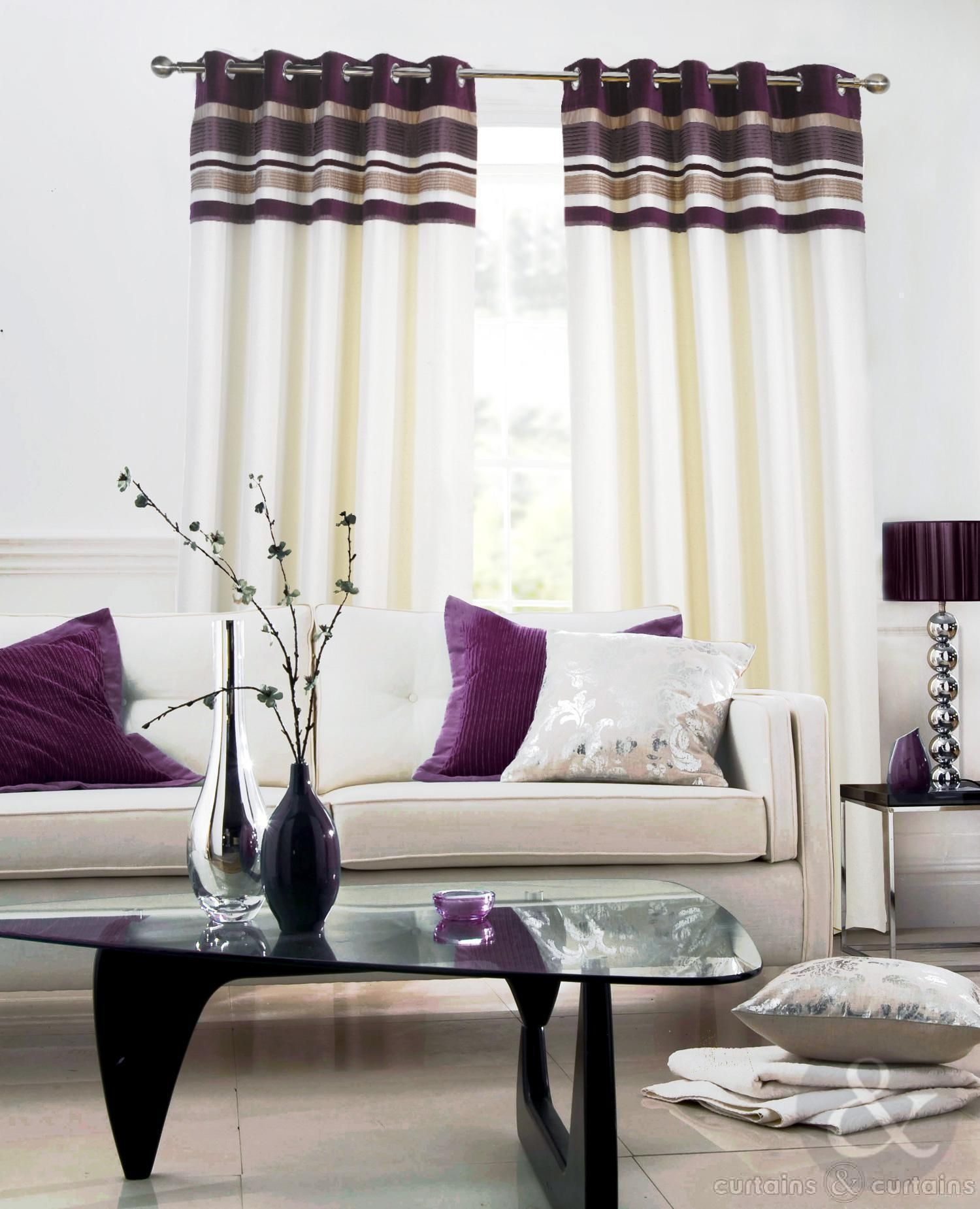 Pink And Cream Living Room Curtains Curtains Living Room Wall