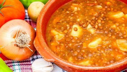 شوربة العدس الكويتية Recipe Cooking Food World Recipes