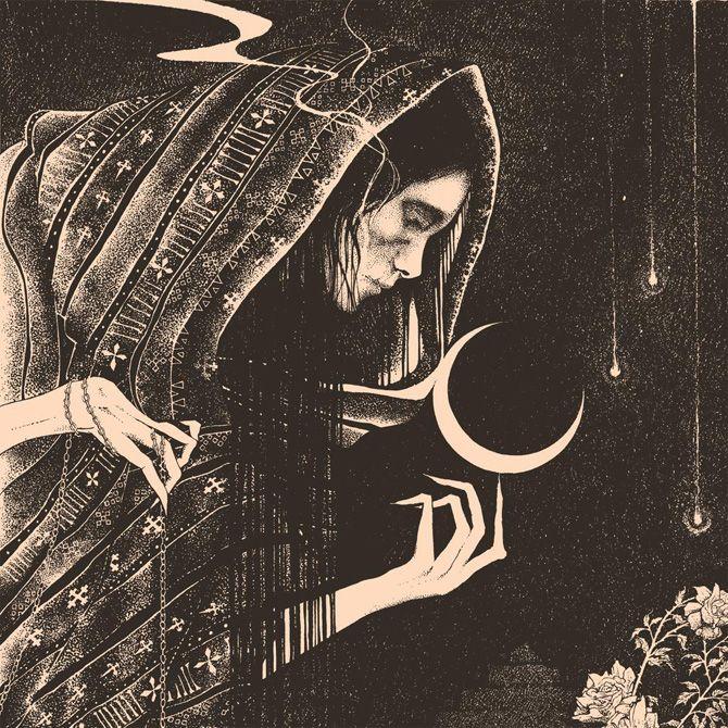 Dark illustrations inspired by myth, folklore and magick by Glyn Smyth #illustrationart