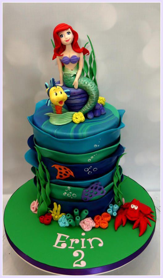 Little Mermaid - Cake by Heavenly Treats by Lulu