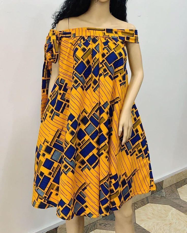 2019 Ankara Gown Styles for Beautiful Ladies – #Ankara #beautiful #Gown #Ladies