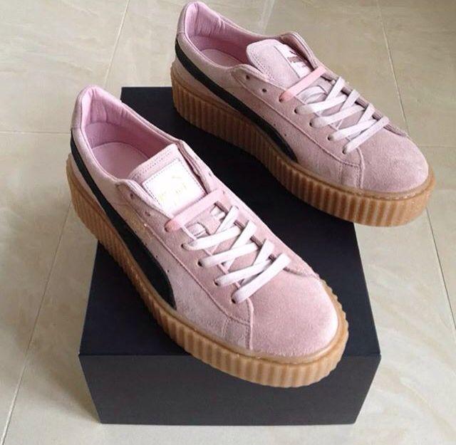 new style 23c46 210d7 puma creepers riri | Shoes✨ | Fashion shoes, Pumas shoes ...