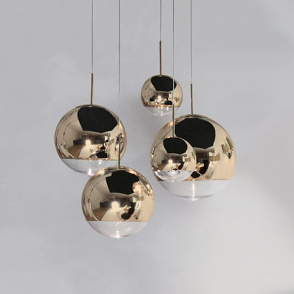 tom dixon mirror ball gold pendant shop at. Black Bedroom Furniture Sets. Home Design Ideas