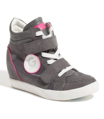 Amazon.com: G by GUESS Power Wedge Sneaker: G by Guess: Shoes