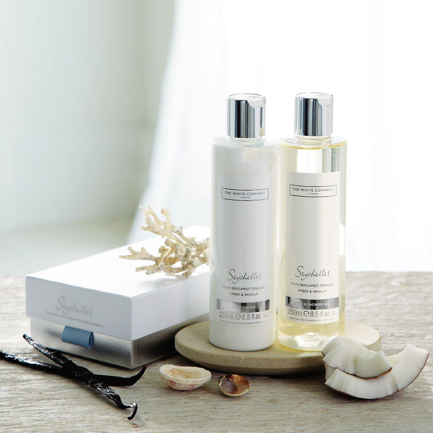 Seychelles Bath & Body Gift Set Bath & Body The White