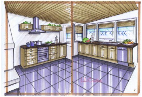 POSE DE CUISINE DANS UNE VERANDA jerem Pinterest - cuisine dans veranda photo