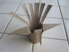 simple toilet paper tube turkey