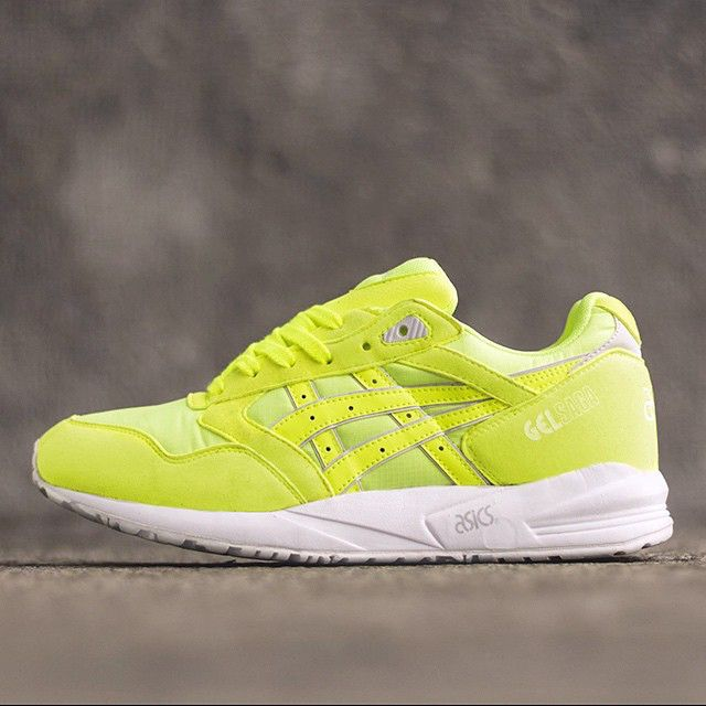 Asics brings vibrant neon colors to the Gel Saga. Perfect for summer, right?