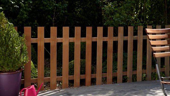 deco-jardin-cloture-barriere | clôtures | Pinterest | Barrière ...