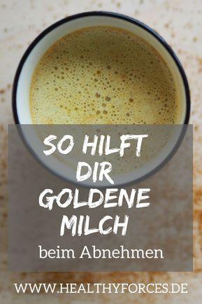 Goldene Milch zur Gewichtsreduktion: Rezept und Tipps für das trendige Getränk,  #das #Fitness-Mahlz...