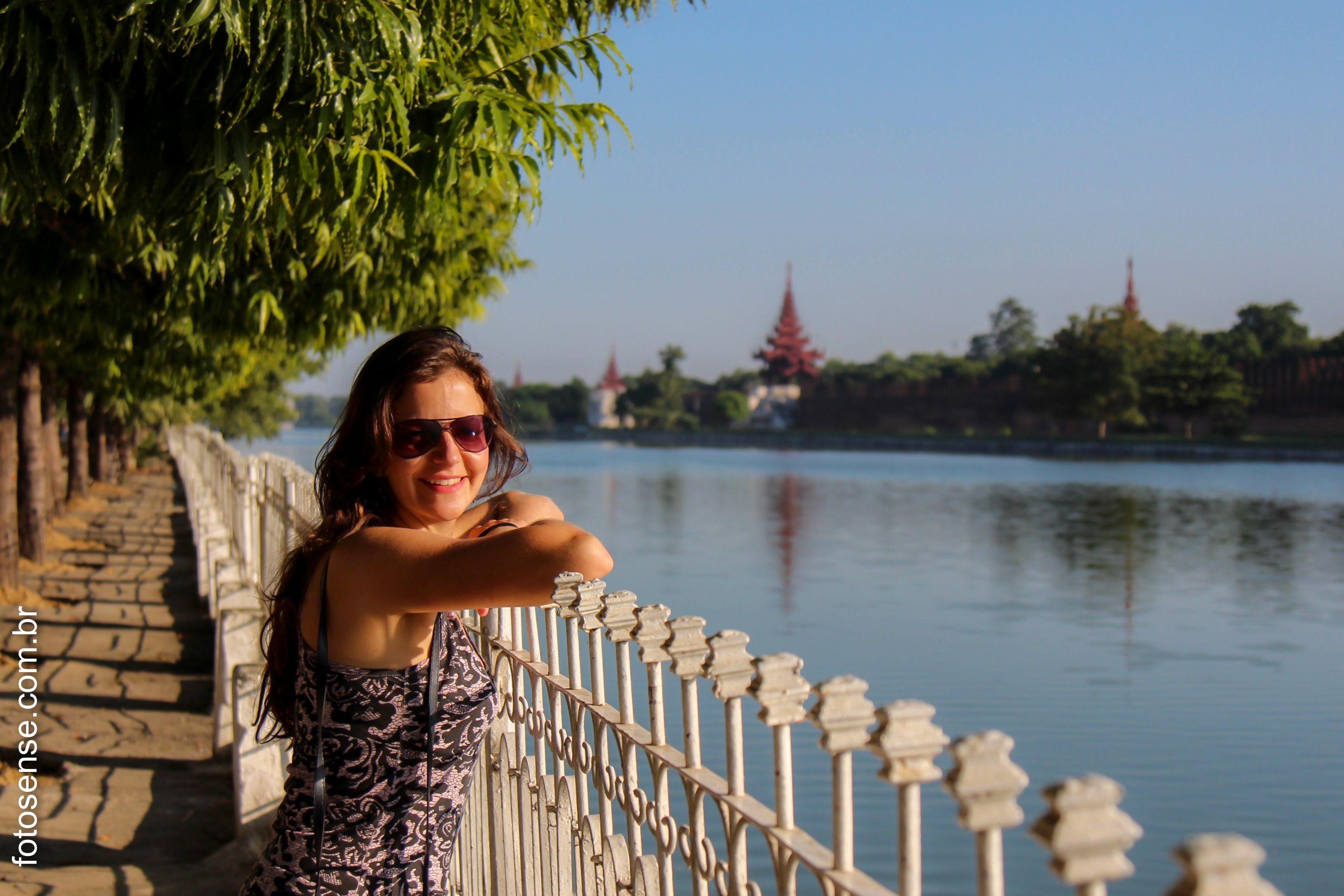 Sorriso em Mandalay.