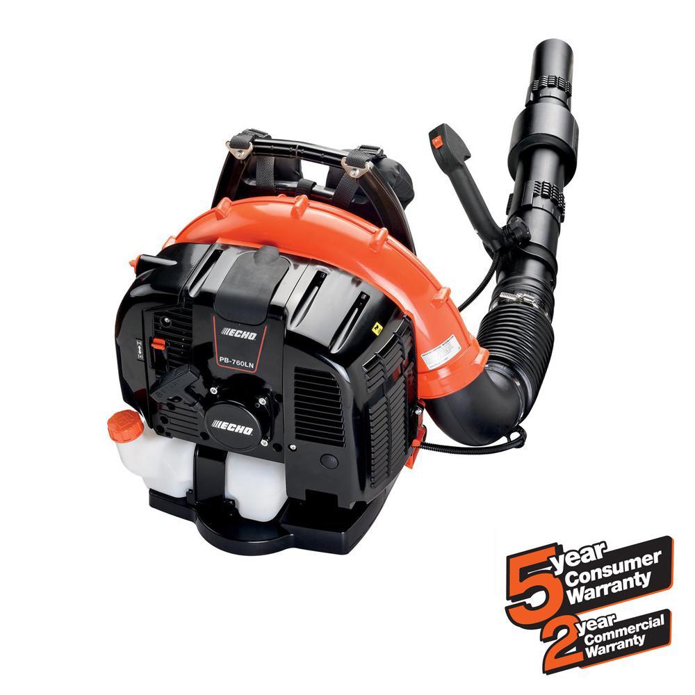 Echo 214 Mph 535 Cfm 63 3cc Gas 2 Stroke Cycle Backpack Leaf