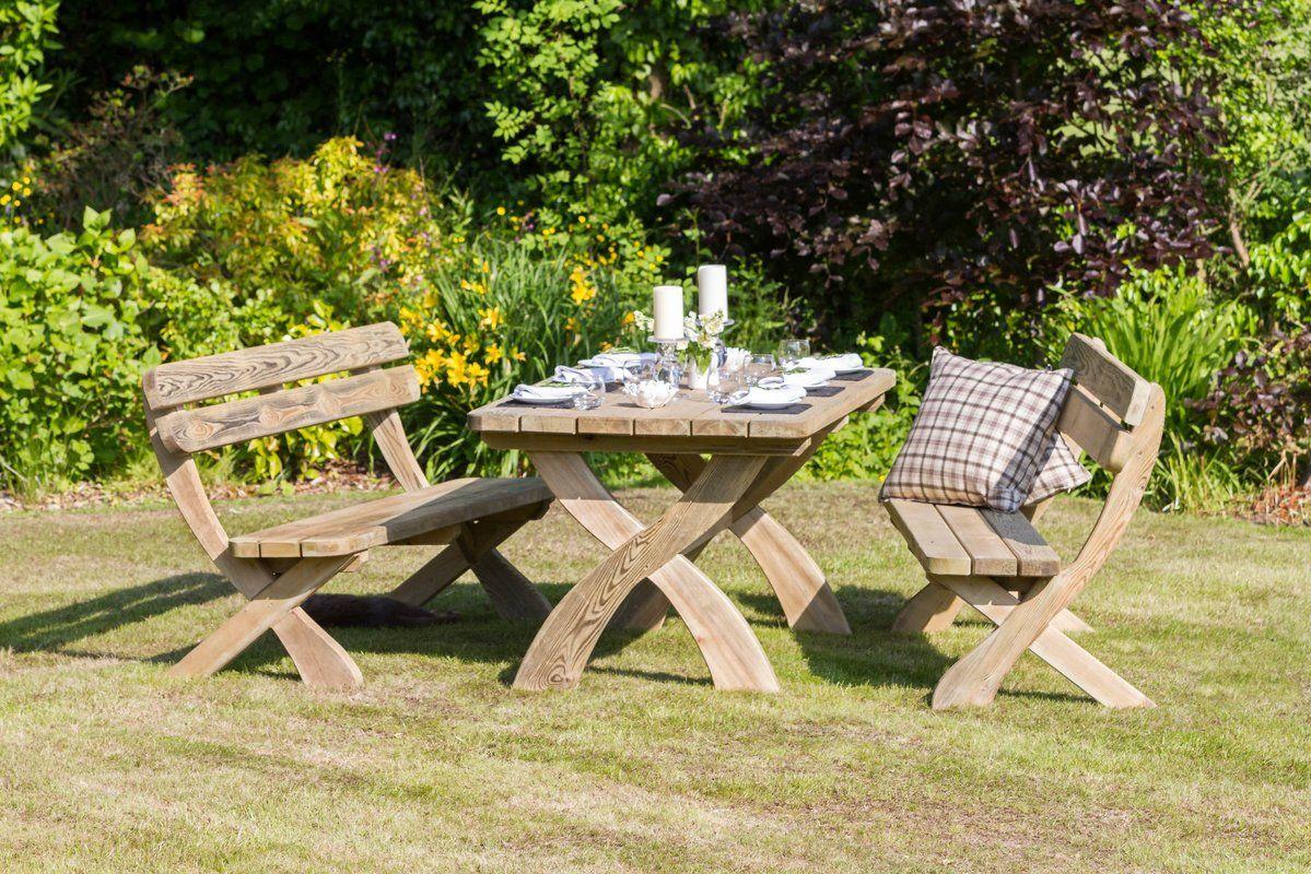 zest 4 leisure harriet 6 seater dining set reviews wayfair co uk rh pinterest com