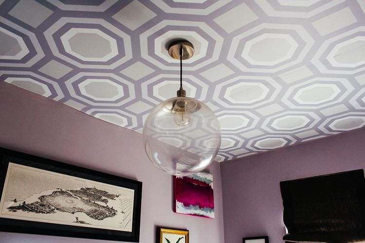29 Stylish Ceiling Wallpaper Ideas Ceiling Design Modern