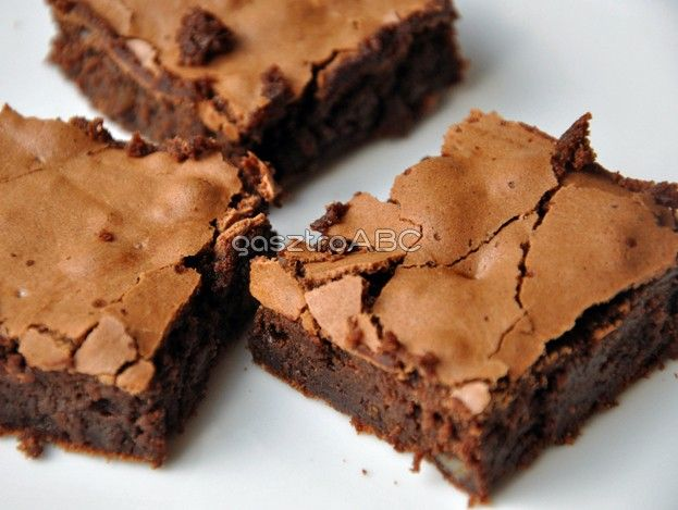 Kaves Szelet Chocolate Recipes Brownie Recipes Homemade Cream Recipe
