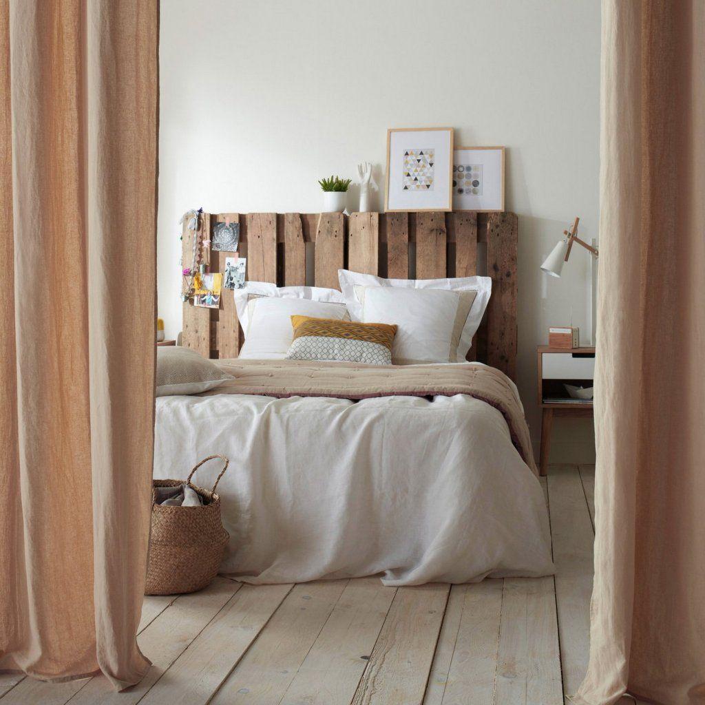 Quoi faire avec des palettes en bois  Deco chambre, Lit en