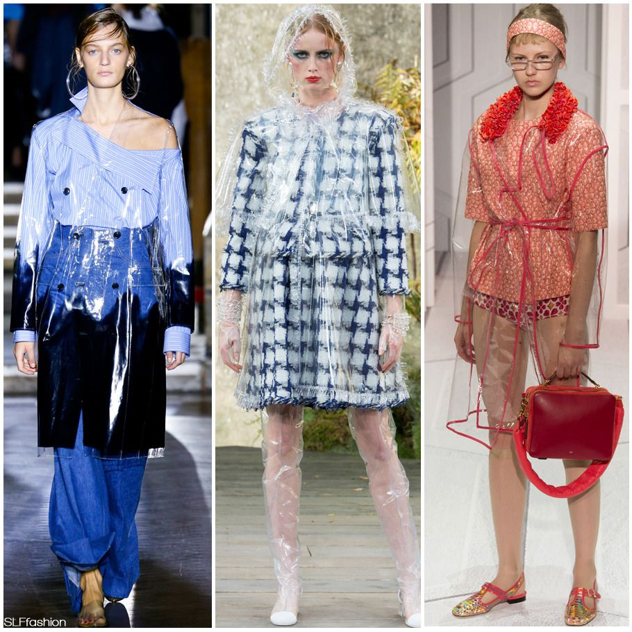 Fashion Trend For Spring Summer 2018: See-through Plastic