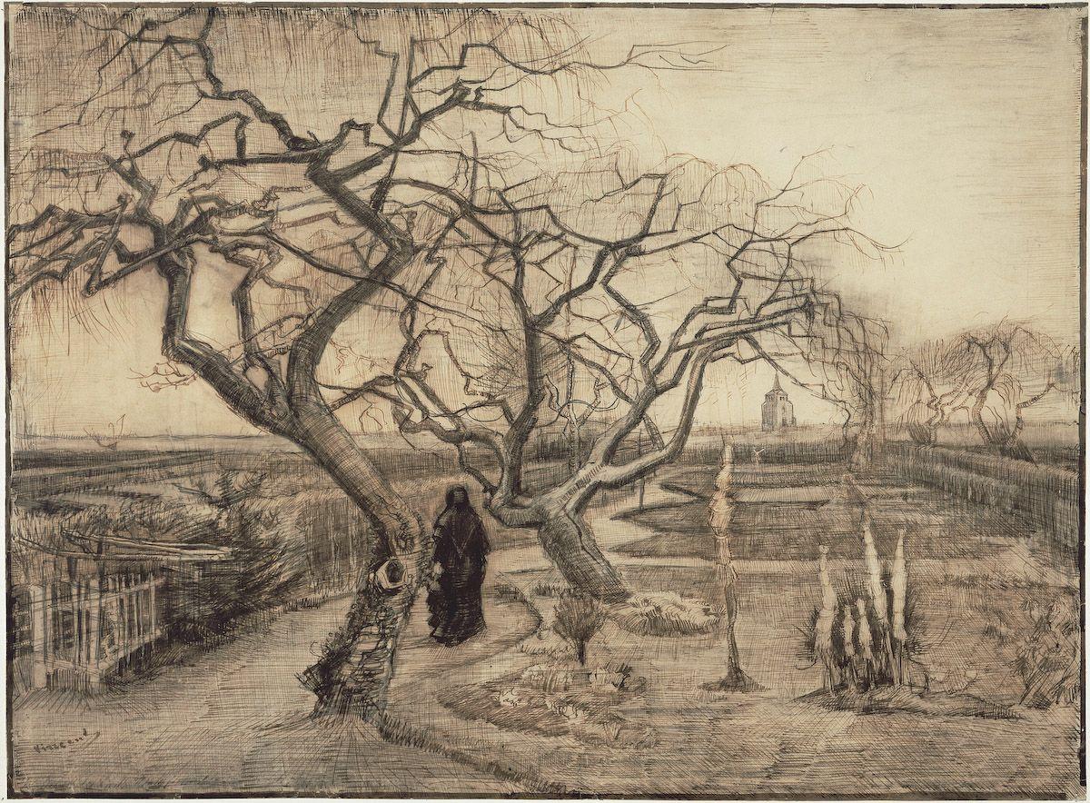 Winter Garden, Vincent van Gogh, 1884 | Vincent | Pinterest | Van ...