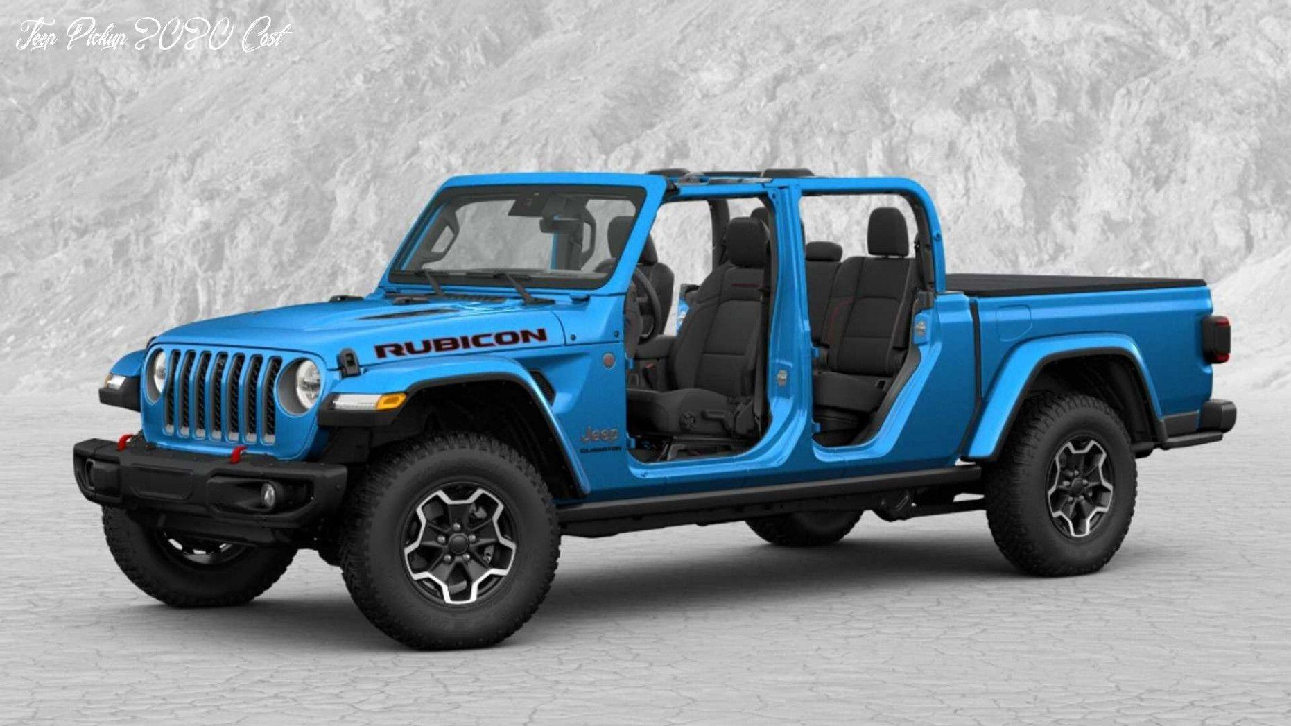 Jeep Pickup 2020 Cost Engine In 2020 Jeep Gladiator Jeep Pickup Truck New Jeep Truck