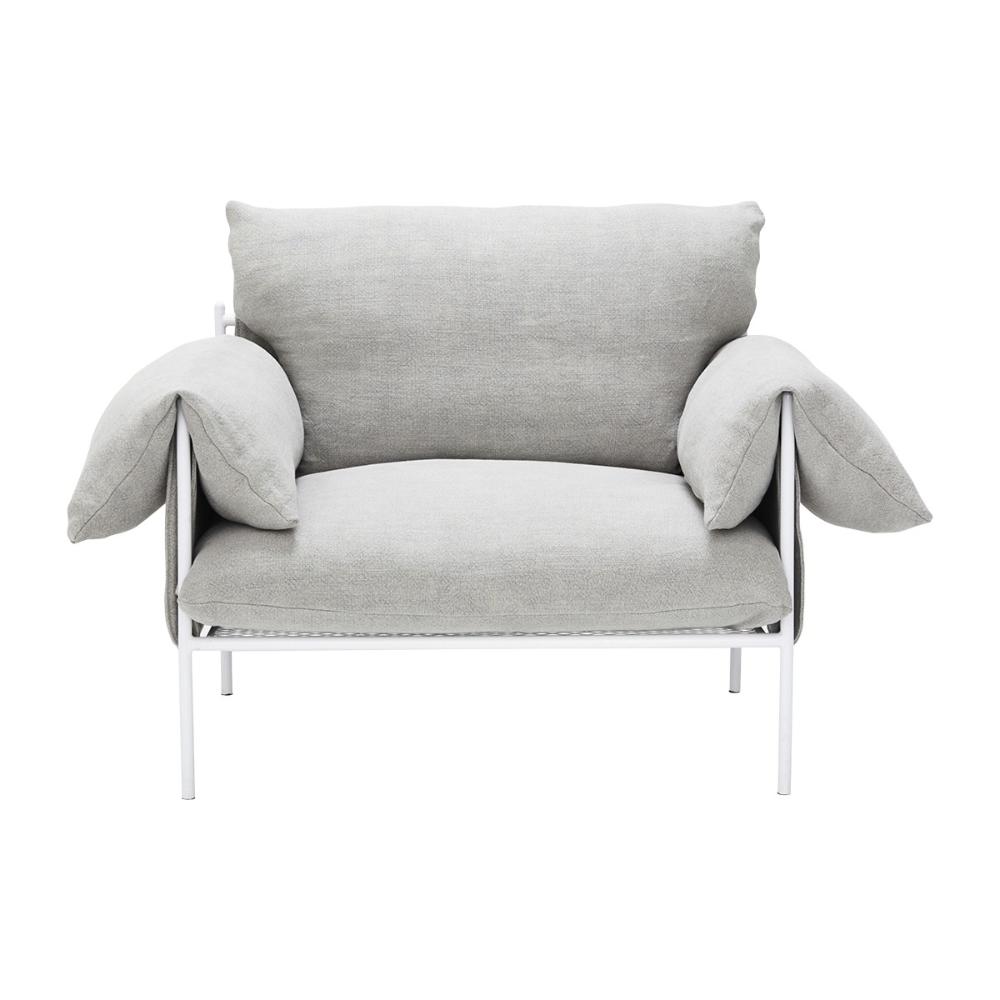 Alva Linen Armchair White Frame In 2020 Linen Armchair White Linen Armchair Armchair