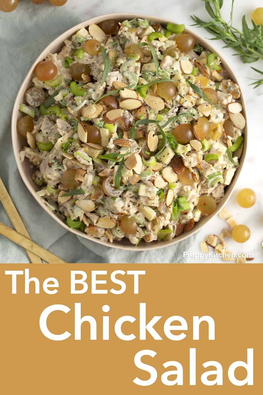 This Amazing Chicken Salad Recipe With Celery And Toasted
