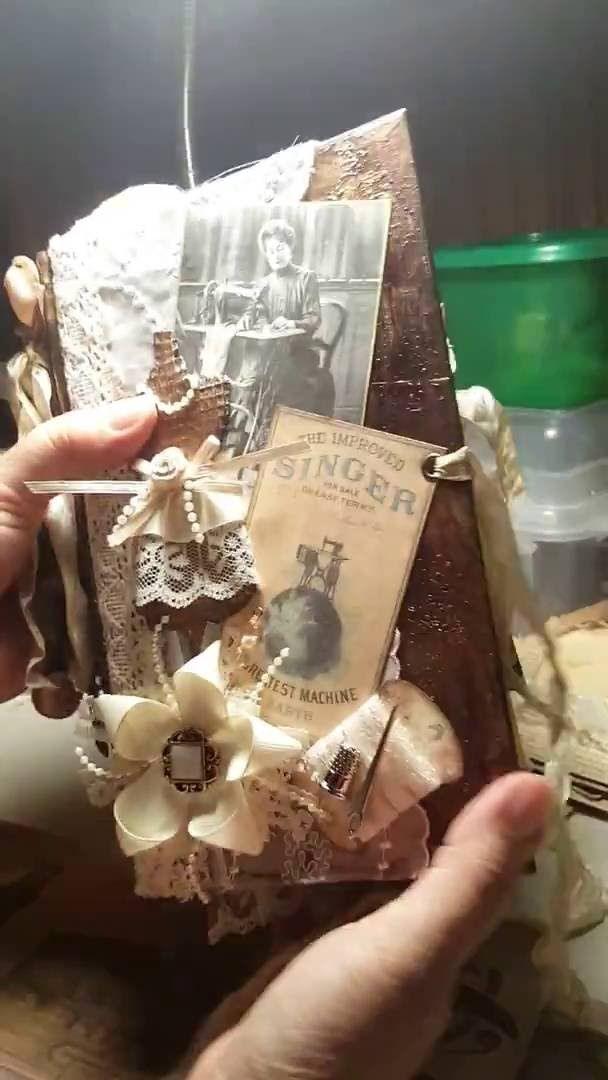 Vintage Sewing Junk Journal