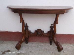 Antik asztal, antik, bútor, asztal, barokk, biedermeier, koloniál ...