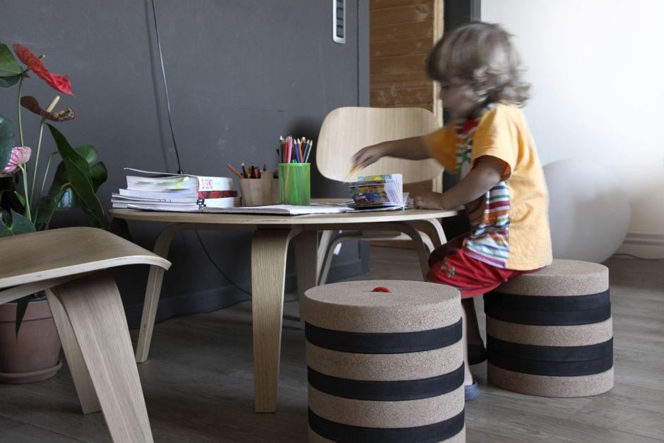 Sgabello bambini ~ Toronto in tenta & daniela seminara design 2012 : a modular and