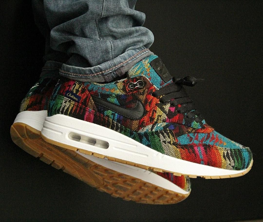 4c4fda287364 Nike ID Air Max 1 Pendleton (by pedram50) – Sweetsoles – Sneakers ...