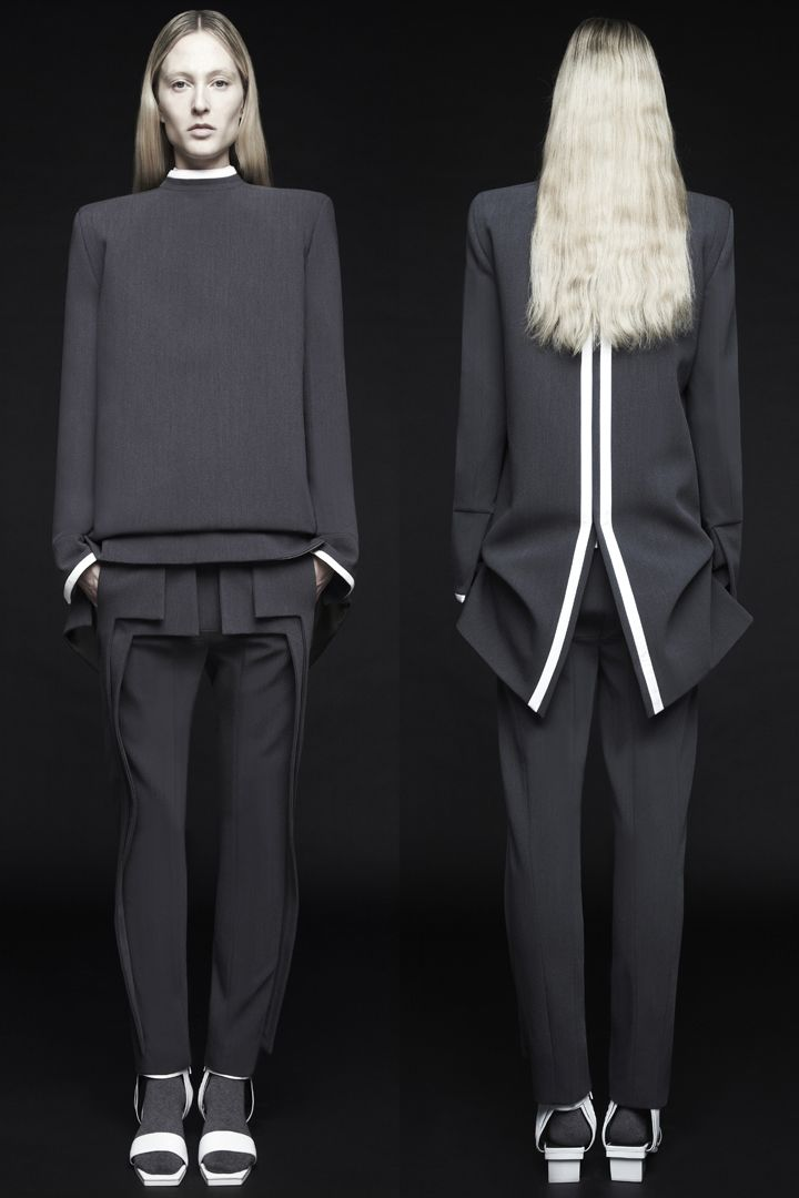 RAD RTW. The ONLY time I think I'd be prepared to wear white shoes & black…