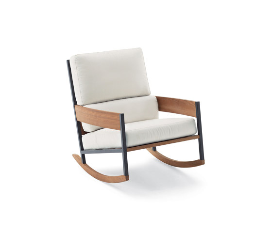 Nap 082 Rocking Chair Armchairs From Roda Architonic Rocking Armchair Rocking Chair Chair