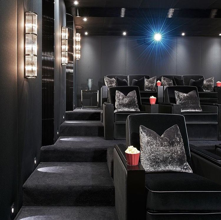 Home Theater Seat Design Ideas: Home Cinema Room, Home Theater