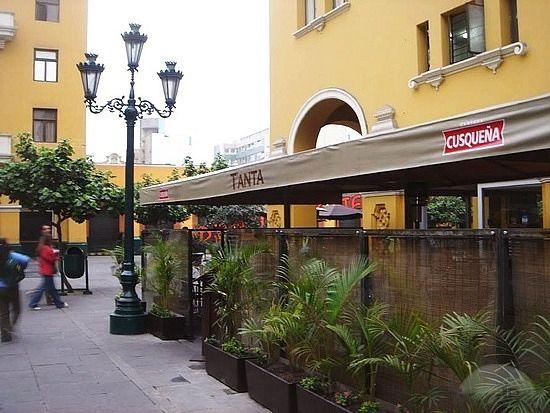 Cafe Tanta En El Jiron De La Union Lima Peru Lima Peru Peru Lima