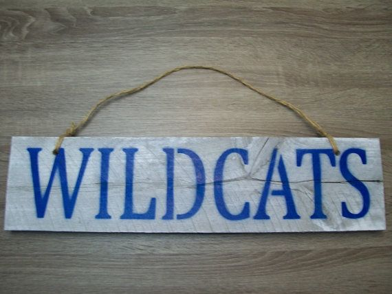 University of Kentucky Wildcats Barn Wood by ...