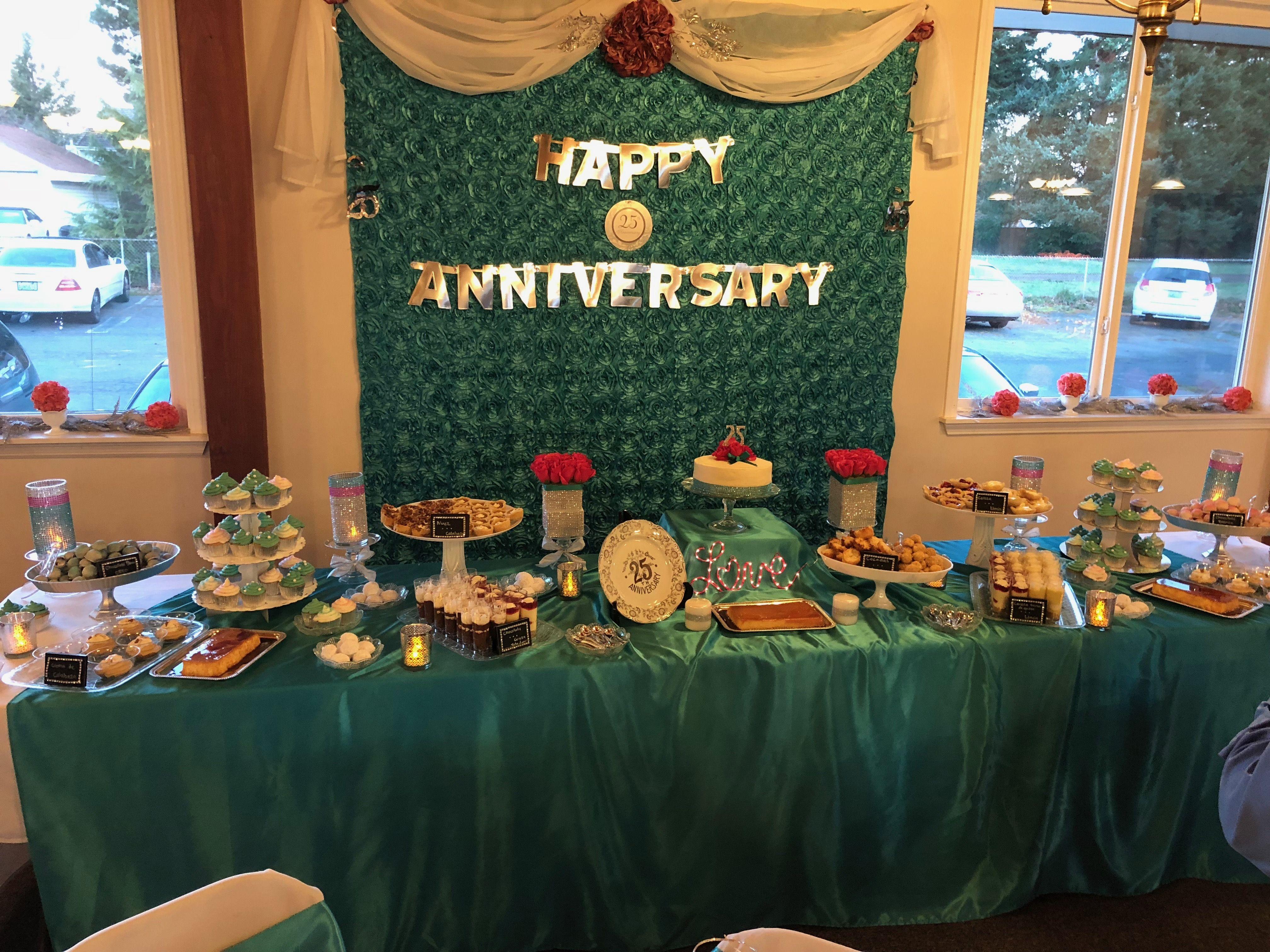Pin by Joy on Martha's 25 Anniversary Ideas | Table ...