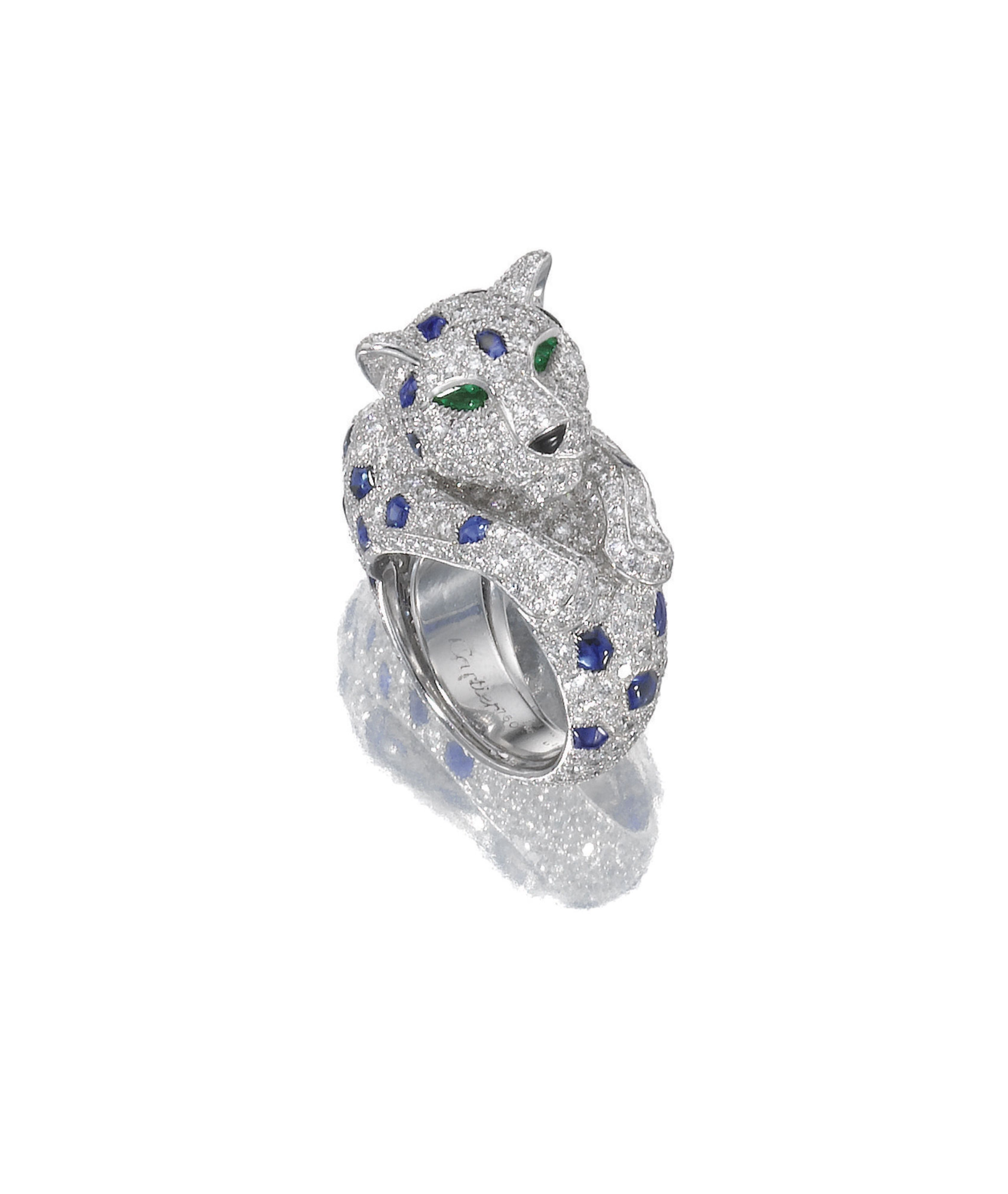 mounted ring colored by s gold cartier jewels diamond vari coloured sapphire eco and online