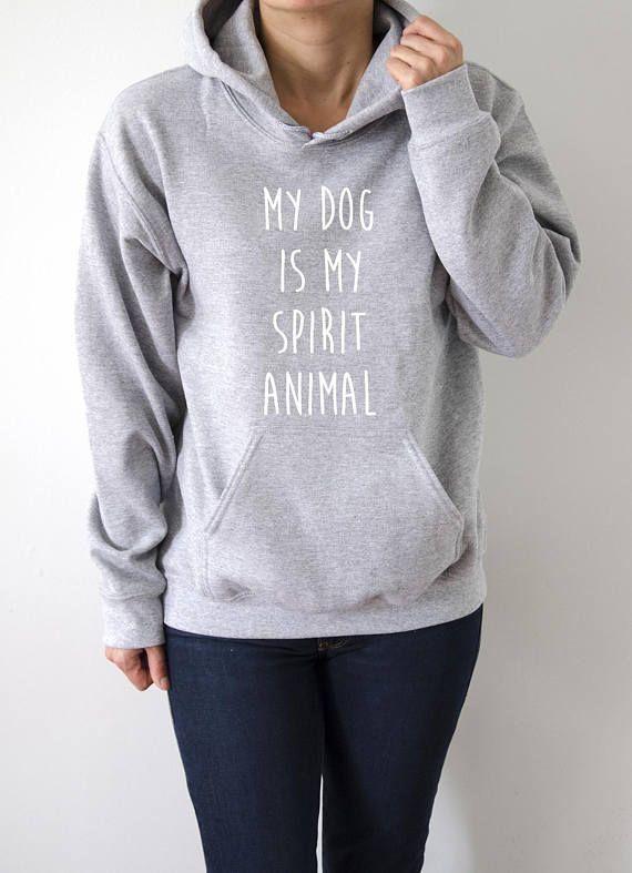 Coffee Is My Spirit Animal Hoodies Unisex fashion teen girls womens gifts ladies saying love animal bed jumper cute hiptser coffee time 87mOdDez7k