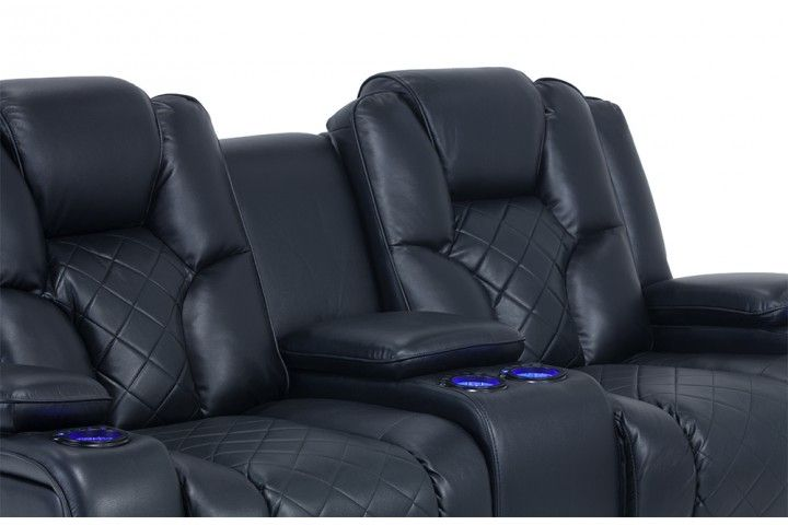 Gladiator Power Dual Reclining Sofa And Console Loveseat Part 34