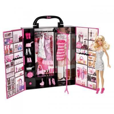Barbie Fashionista Modekoffer