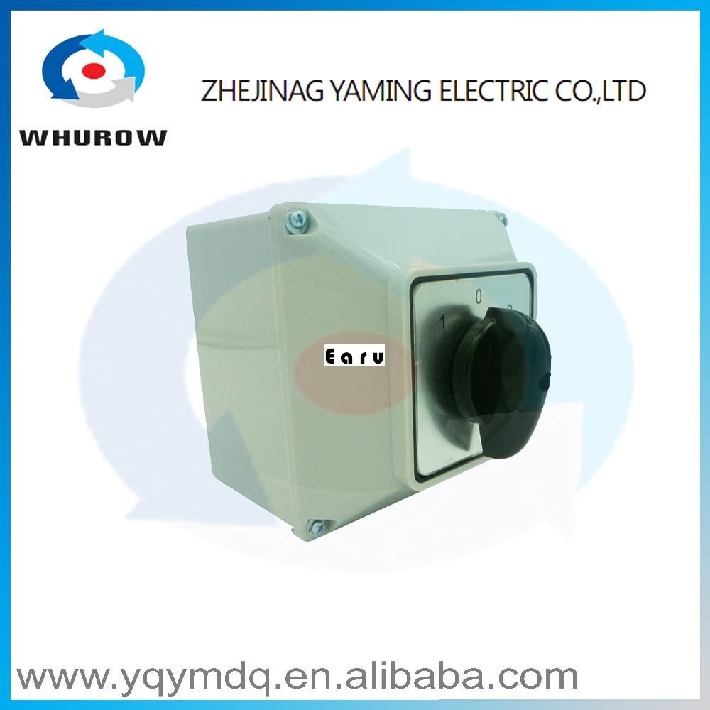 Lw26 63m Switch Box With Protective 63a 1 Pole High Quality China Circuit Breaker Electrical Momentary Changeover