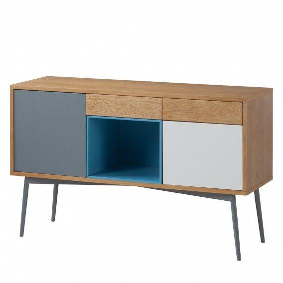 Sideboard Eno I - Eiche   Grau Home24 Wohnzimmer Pinterest - wohnzimmer eiche grau
